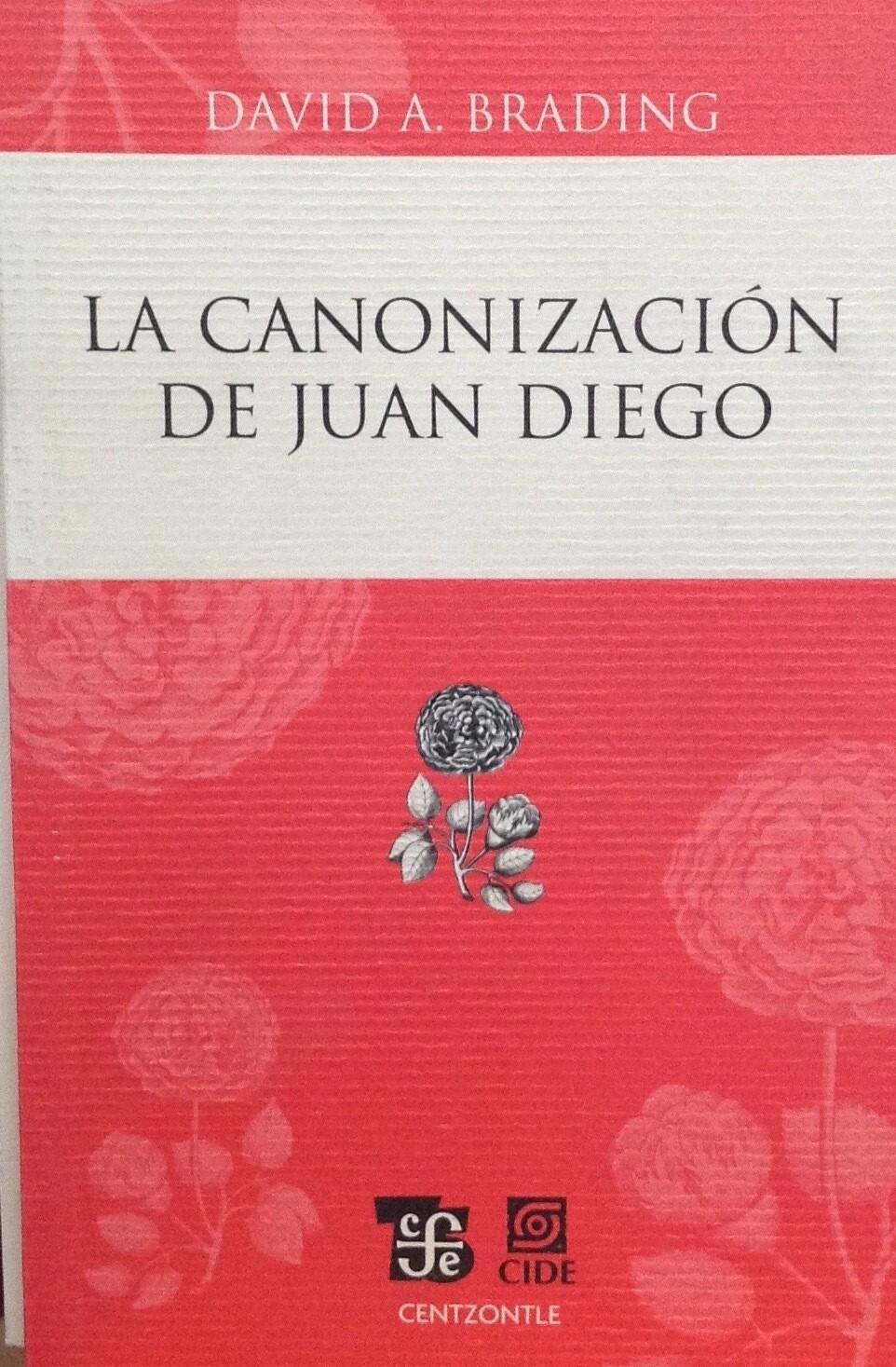 David A. Brading, La canonización de Juan Diego