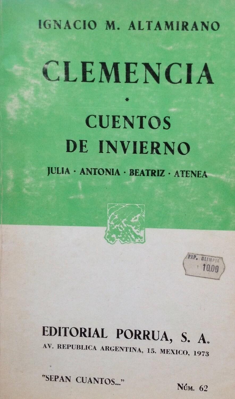 Ignacio M. Altamirano, Cuentos de invierno