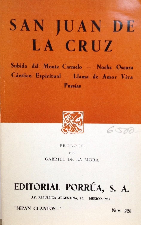San Juan de la Cruz, Poesías...