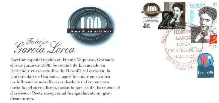 García Lorca. Sobre primer día