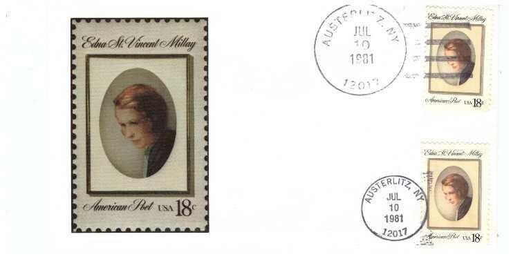 Edna St. Vincent Millay, Sobre primer día