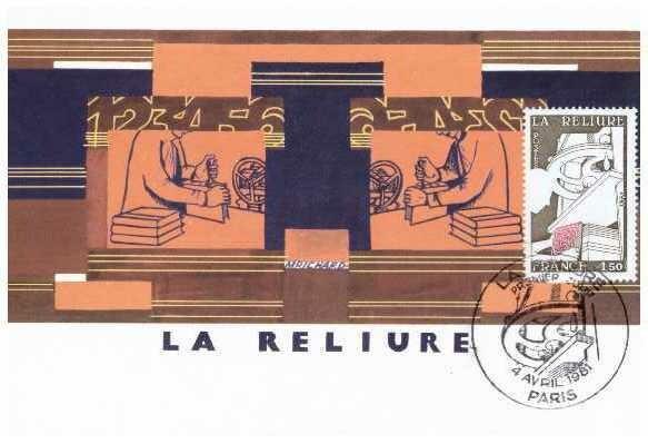 Encuadernación 01, Postal