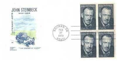 John Steinbeck, Sobre primer día 02