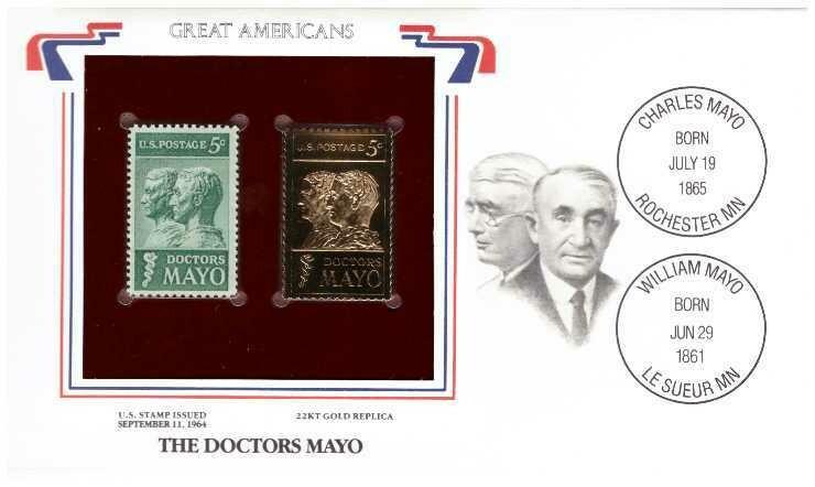 The doctors Mayo, Timbre y réplica 22 k