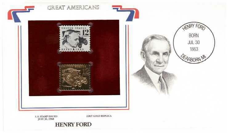Henry Ford, Timbre y réplica 22 k
