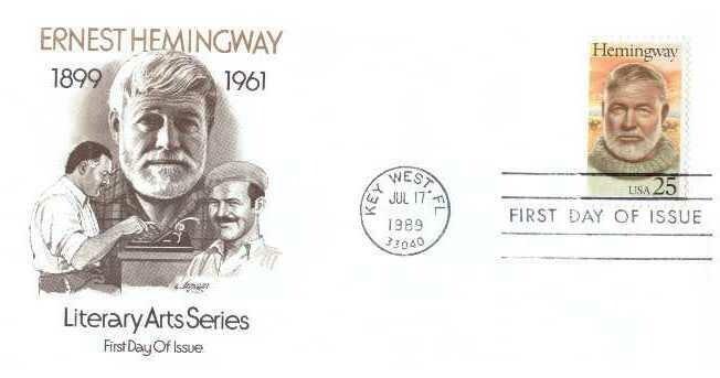 Ernest Hemingway, Sobre primer día 02
