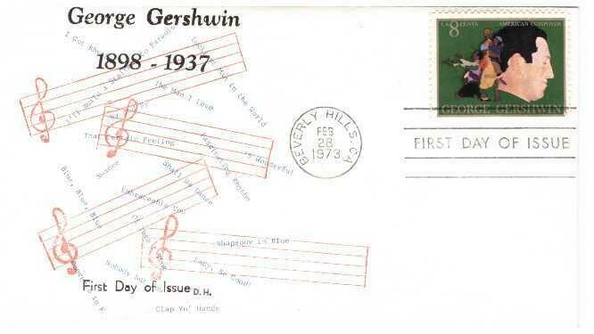 Gershwin, Sobre primer día 02