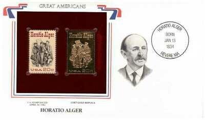 Horatio Alger, Timbre y réplica 22 k