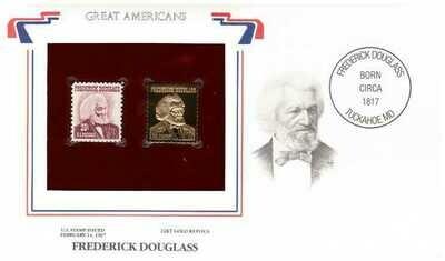 Frederick Douglass, Timbre y réplica 22 k