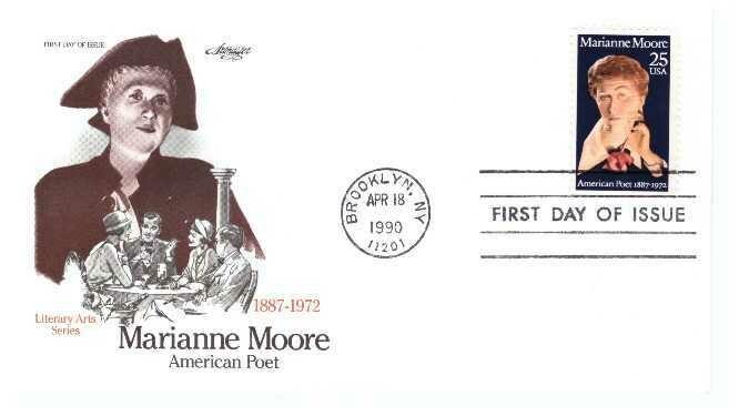 Marianne Moore, Sobre primer día 02