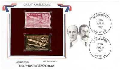 The Wright Brothers, Timbre y réplica 22 k
