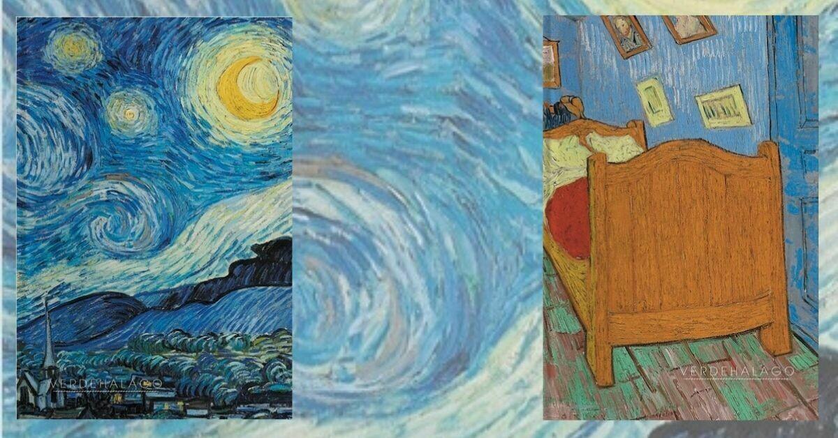 Noche estrellada y Habitación de Van Gogh por 199 pesos envío incluido (pequeñas)