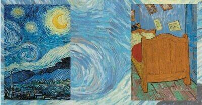 Noche estrellada y Habitación de Van Gogh por 279 pesos envío incluido (grandes)