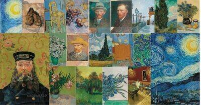 Todo Van Gogh, 20 libretas, todos los modelos, media carta por 1999  pesos envío incluido