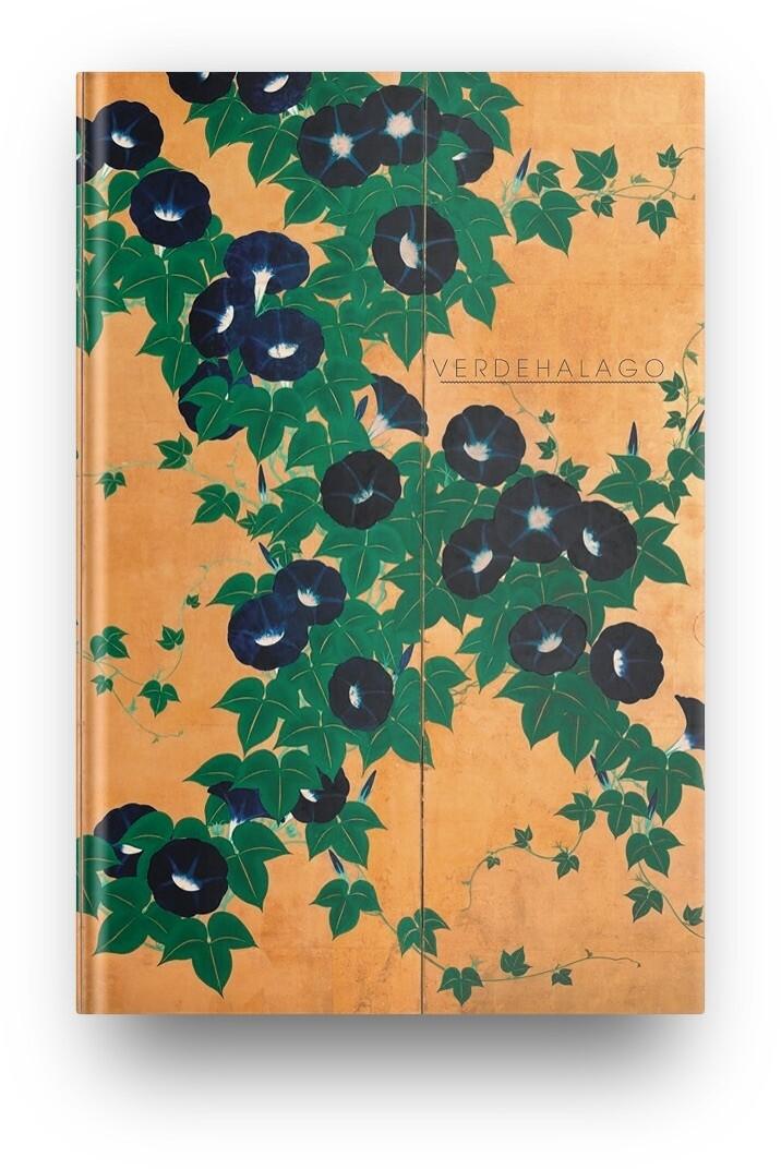 Libreta Suzuki Kiitsu Flores  03 (Gloria de la mañana)