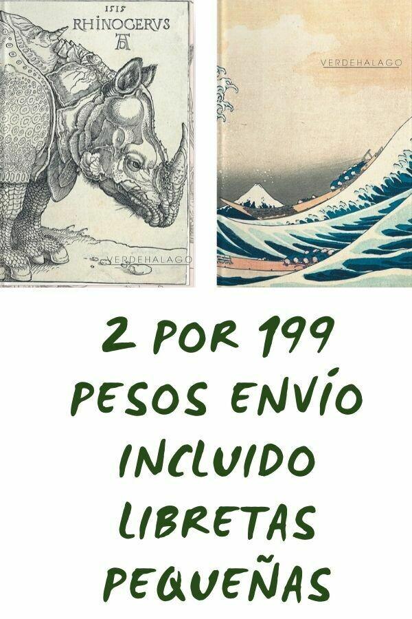 Rinoceronte y Ola  por 199 pesos envío incluido (pequeñas)