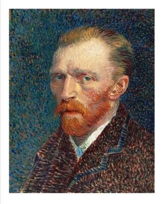 Autorretrato de Van Gogh 01, impresión [No incluye marco]