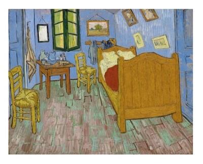 Habitación de Van Gogh, impresión [No incluye marco]