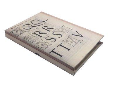 Libreta Alberto Durero, tipografía