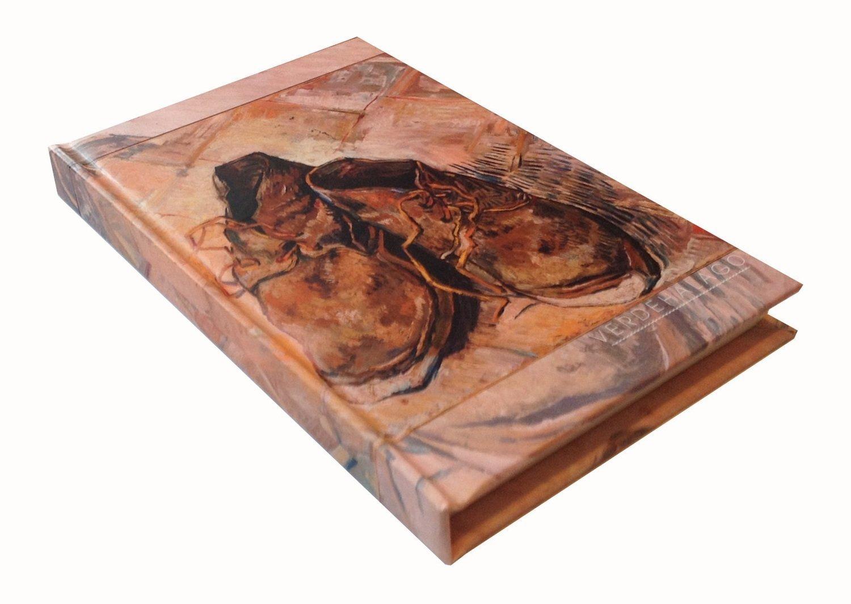 Libreta Van Gogh Zapatos