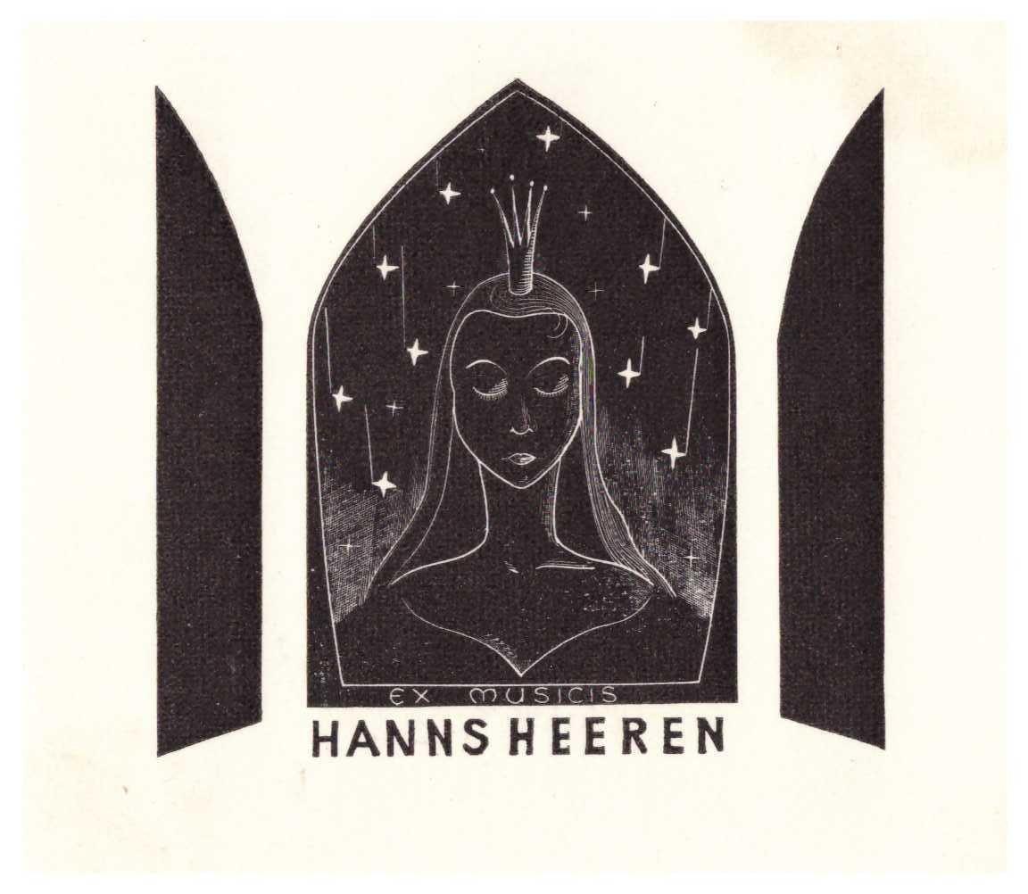 Ex libris Hanns Heren
