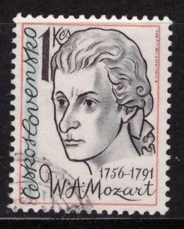 Mozart, Checoslovaquia, Usado