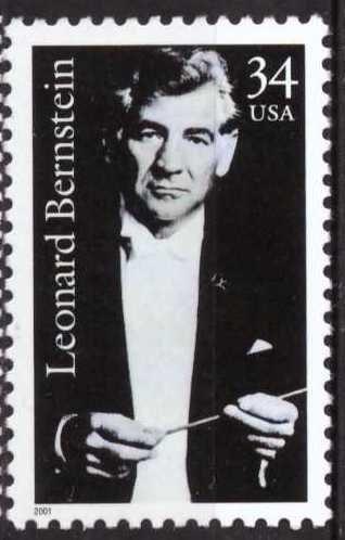 Leonard Bernstein, USA, sin usar