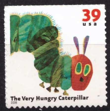 The very hungru Caterpillar, USA, Sin usar