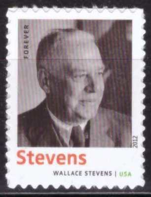 Wallace Stevens, USA, Sin usar