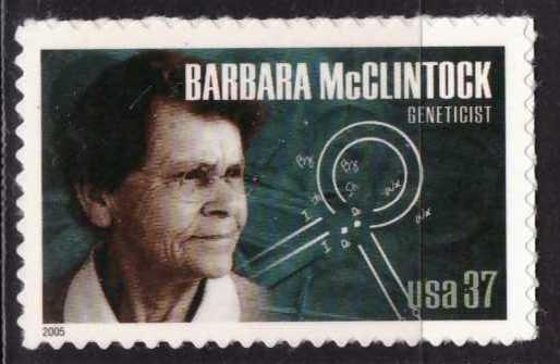Barbara McClintock, USA, Sin usar
