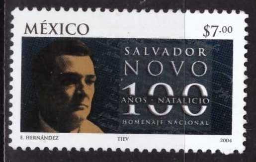 Salvador Novo, México, SIn usar