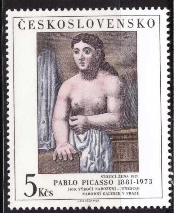 Picasso, Checoslovaquia, Sin usar