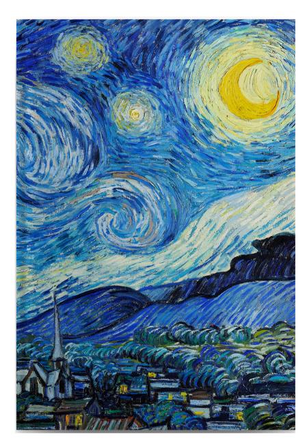 Libreta La noche estrellada de Van Gogh
