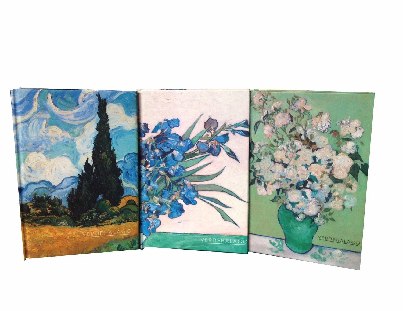 Libretas Ciprés, Iris y Rosas por 299 pesos con envío incluido