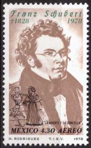 Franz Schubert, sin usar