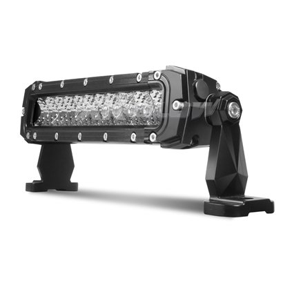 "XKGlow 10"" 50W LED Light Bar - Spot/Flood Combo 4,200 Lumens CREE LED Offroad Work Light with 3D Optics"