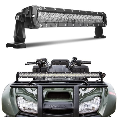 "XKGlow 20"" 100W LED Light Bar - Spot/Flood Combo 8,560 Lumens CREE LED Offroad Work Light with 3D Optics"
