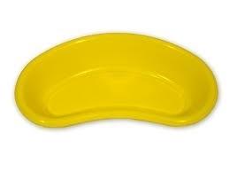 Νεφροειδή πλαστικά κίτρινα ή μπλε (100 τεμάχια)