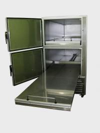 Ψυγείο νεκρών δύο θέσεων (κάθετης φόρτωσης)