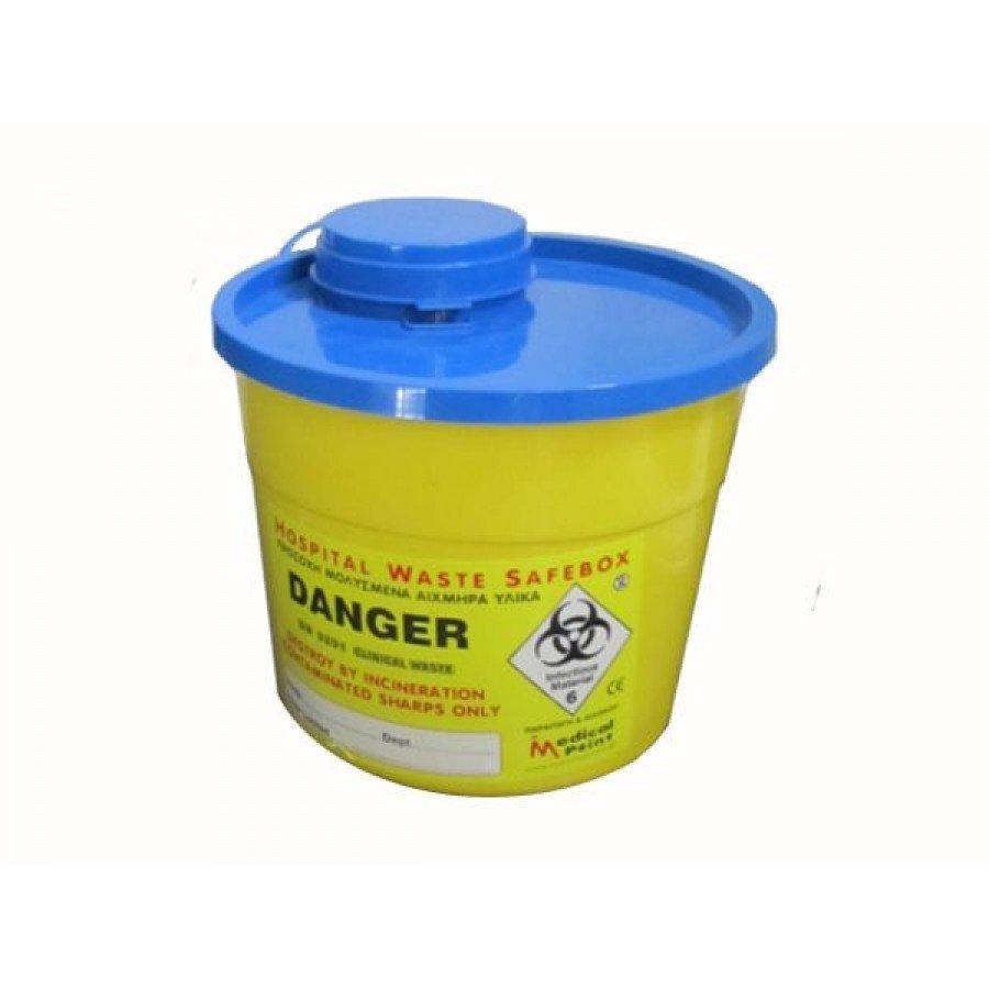Δοχείο απόρριψης βελονών (5,4 λίτρων)