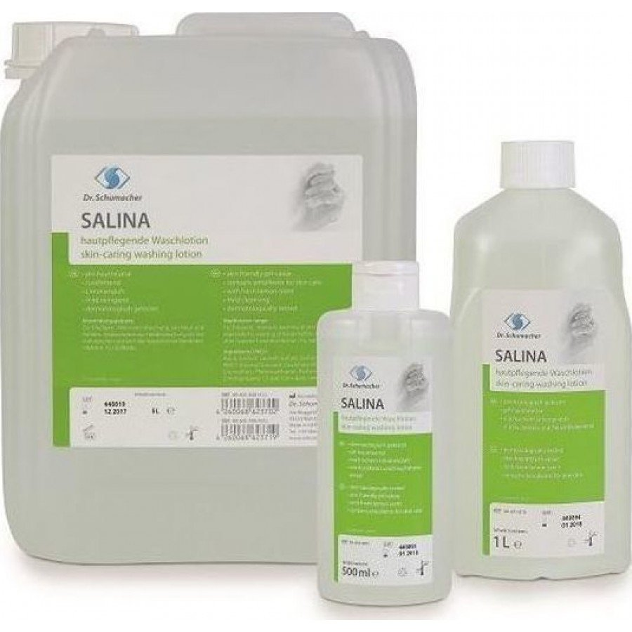 Salina - Σαπούνι με άρωμα λεμόνι για κανονικό δέρμα 1l