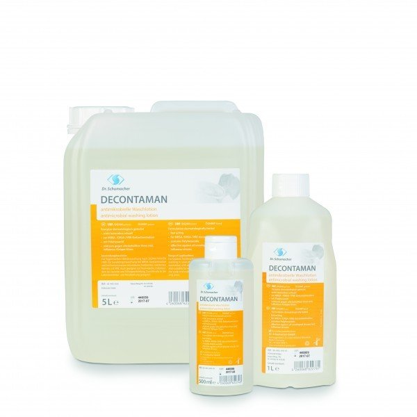 Decontaman - Αντιμικροβιακό σαπούνι 500ml