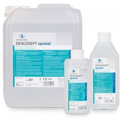 Descosept spezial - Υγρό ταχείας απολύμανσης ευαίσθητων επιφανειών 1000ml