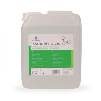Descoton 2% GDA - Υγρό απολύμανσης εργαλείων έτοιμο για χρήση 5000ml