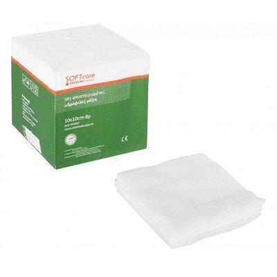Γάζες απλές - 7,5cm x 7,5cm 8ply (100 τεμάχια)