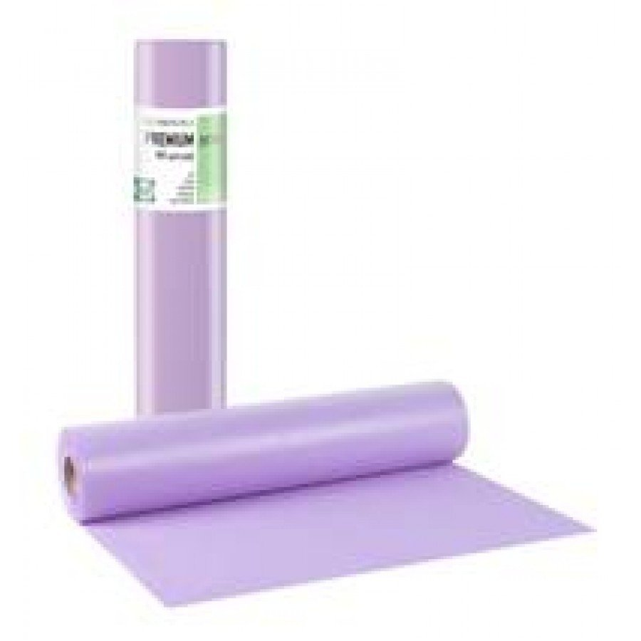 Πλαστικό+χαρτί κόλλα μωβ 58εκ x 50μ. (12 τεμάχια)