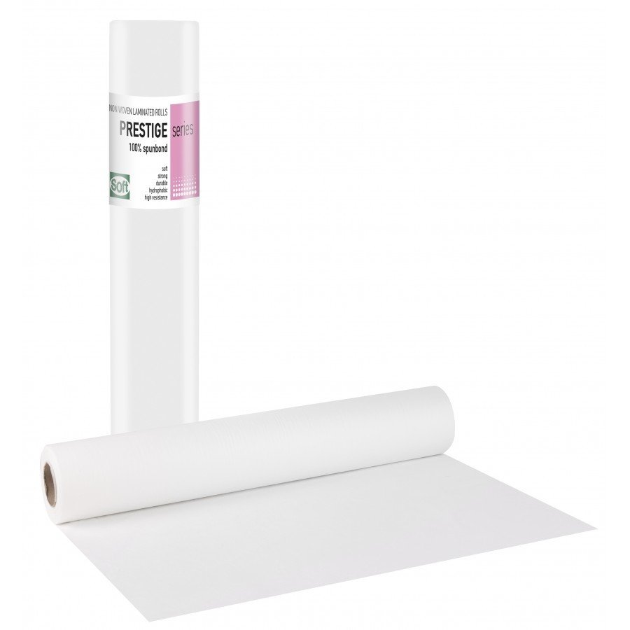 Non-woven+PE λευκό 68εκ x 70μ. (15 τεμάχια)