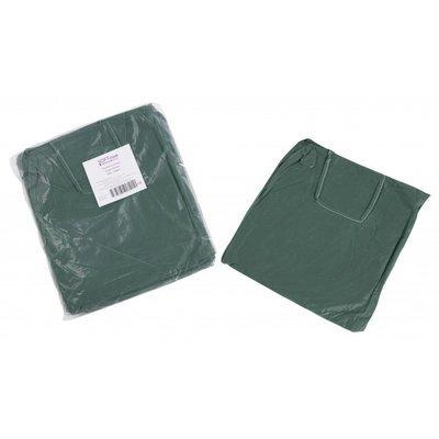 Μπλούζες εξεταστικές non woven 20gr / m2 - 115cm x 137cm (πράσινο σκούρο)