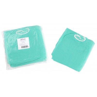 Φούστα εξεταστική non woven 25gr / m2 / 138cm x 80cm 100 τεμάχια (πράσινη)