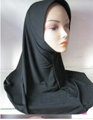 Black Beauty Hijab